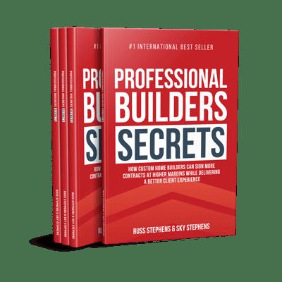 Professional Builders Secrets Book