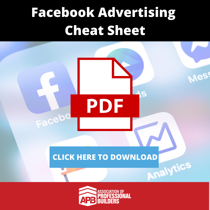 Facebook Advertising  Cheat Sheet-1