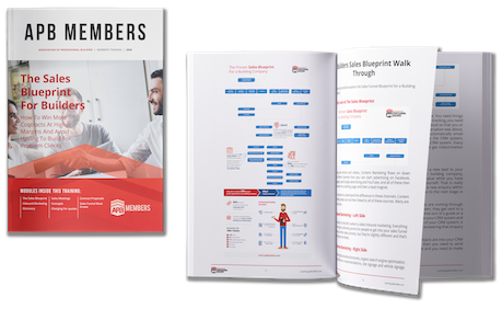 The Sales Blueprint For Builders