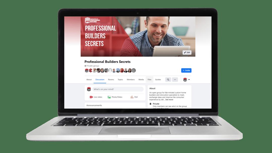 Professional Builders Secrets FB Group