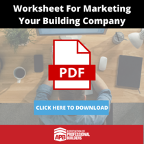 Worksheet For Marketing Your Building Company-1