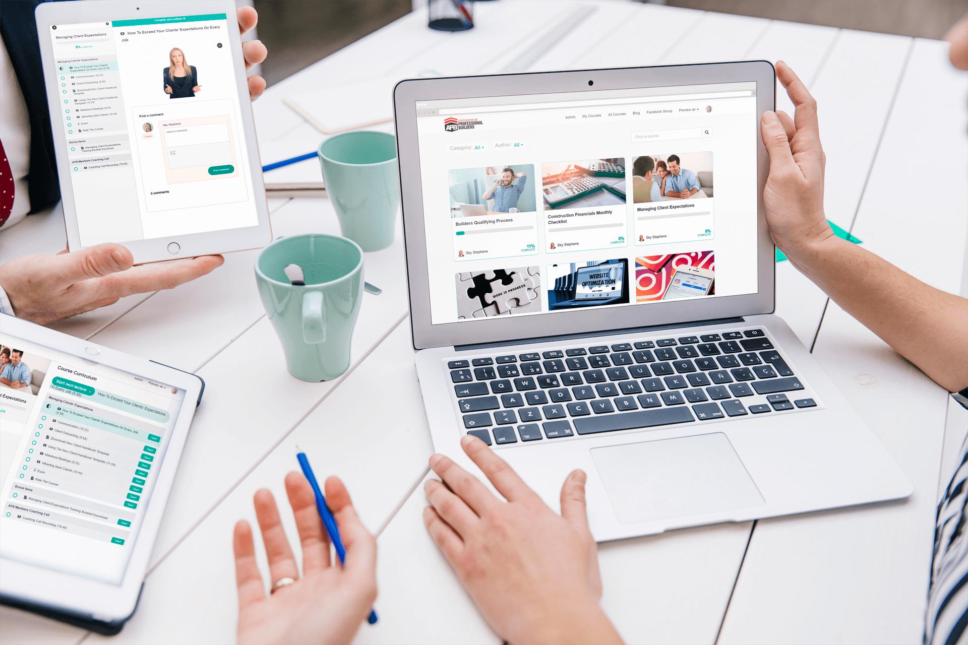 Online Training Portal v2